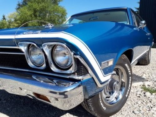 1968 CHEVROLET CHEVELLE SS 396  For Sale (picture 1 of 6)