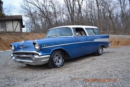 1957 Chevrolet Nomad Station Wagon For Sale (picture 1 of 6)
