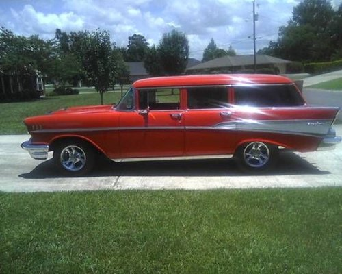 1957 Chevrolet Bel Air 4DR Wagon For Sale (picture 1 of 1)