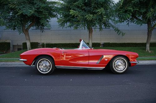 1952 1962 Chevrolet Corvette 327/340HP V8 4 spd Roadster SOLD (picture 3 of 6)