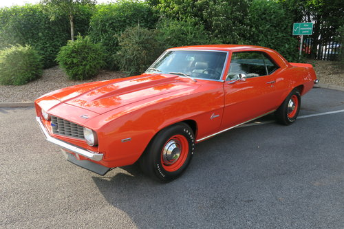 1969 Chevrolet Camaro COPO 9651 Tribute Ex Gas Monkey Garage For Sale (picture 1 of 6)