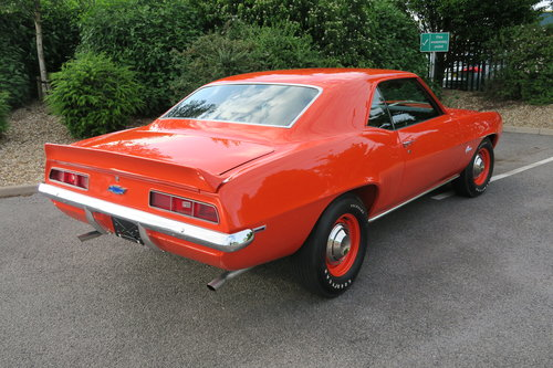 1969 Chevrolet Camaro COPO 9651 Tribute Ex Gas Monkey Garage For Sale (picture 2 of 6)