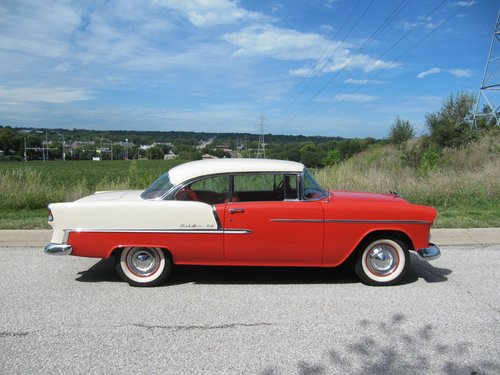 1955 Chevrolet Bel Air 2DR HT For Sale (picture 1 of 6)