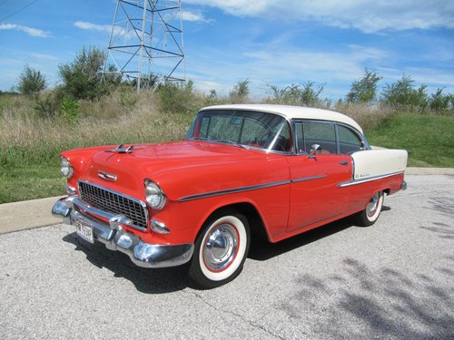 1955 Chevrolet Bel Air 2DR HT For Sale (picture 2 of 6)