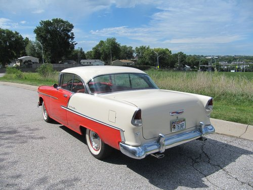 1955 Chevrolet Bel Air 2DR HT For Sale (picture 3 of 6)