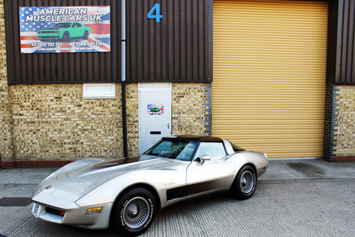 1982 Chevrolet C3 Corvette Stingray For Sale (picture 1 of 6)