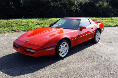 1990 Chevrolet C4 Corvette Convertible For Sale (picture 3 of 6)