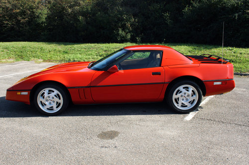 1990 Chevrolet C4 Corvette Convertible For Sale (picture 4 of 6)