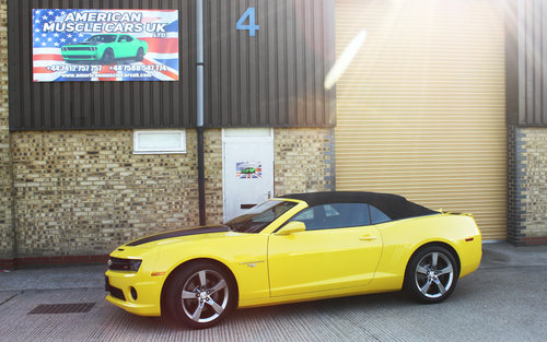 2011 Chevrolet 2SS Camaro Convertible For Sale (picture 1 of 6)