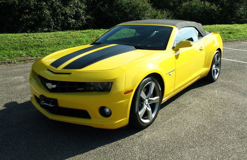 2011 Chevrolet 2SS Camaro Convertible For Sale (picture 2 of 6)