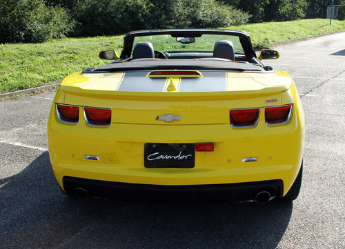 2011 Chevrolet 2SS Camaro Convertible For Sale (picture 4 of 6)