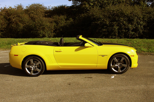2011 Chevrolet 2SS Camaro Convertible For Sale (picture 6 of 6)