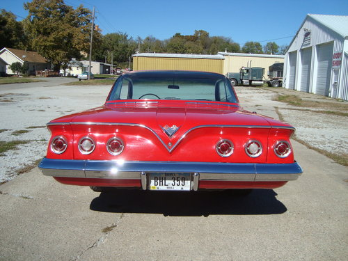 1961 Chevrolet Impala 2DR Bubble Top For Sale (picture 3 of 6)
