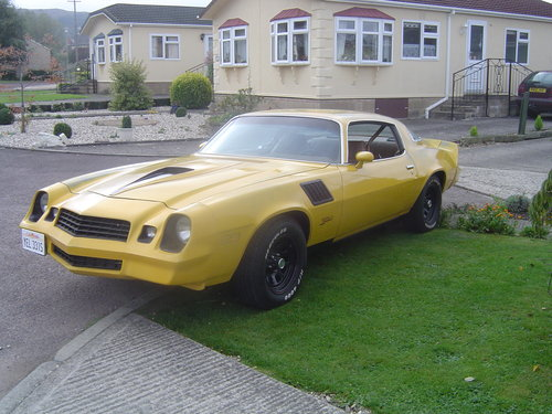 Totaly Original Camaro Z28 1978 SOLD | Car And Classic