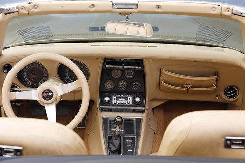 1970 Chevrolet Corvette C3 5,7 V8 Convertible For Sale (picture 4 of 6)