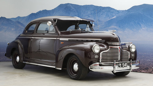 1941 Chevrolet Master De Luxe 5,7 Coupé Automatic SOLD (picture 1 of 6)