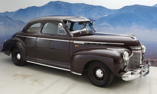 1941 Chevrolet Master De Luxe 5,7 Coupé Automatic SOLD (picture 3 of 6)