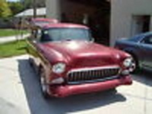 1955 Chevrolet Sedan Delivery For Sale (picture 1 of 6)