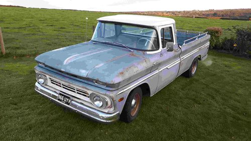 1962 Chevrolet C10 pickup truck For Sale (picture 1 of 6)
