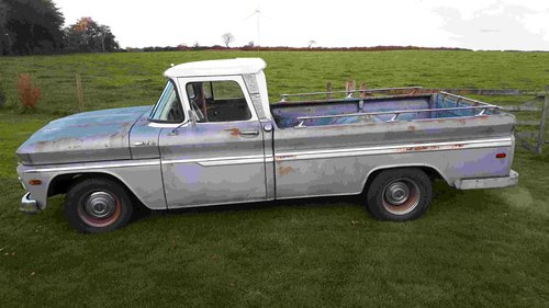 1962 Chevrolet C10 pickup truck For Sale (picture 2 of 6)