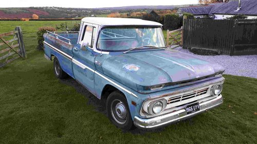1962 Chevrolet C10 pickup truck For Sale (picture 3 of 6)