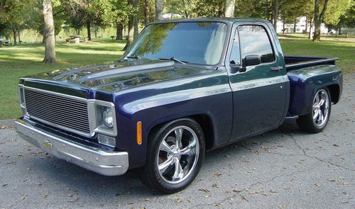 1980 Chevrolet C10 Sidestep pick-up For Sale (picture 1 of 6)