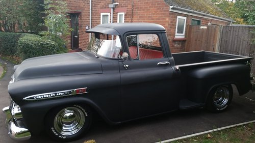 CHEVROLET APACHE 1958 PICKUP CHEVY PICK UP HOTROD For Sale (picture 1 of 6)