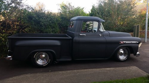 CHEVROLET APACHE 1958 PICKUP CHEVY PICK UP HOTROD For Sale (picture 3 of 6)