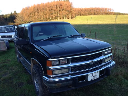 2000 Chevrolet (Holden) Suburban 4x4 Right Hand Drive For Sale (picture 1 of 6)