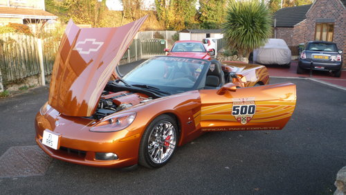 2007 Corvette Indianapolis 500 Pace Car C6 For Sale (picture 1 of 6)