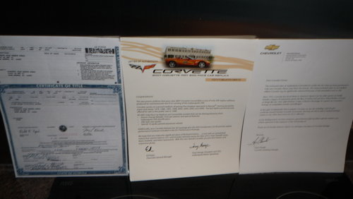2007 Corvette Indianapolis 500 Pace Car C6 For Sale (picture 6 of 6)