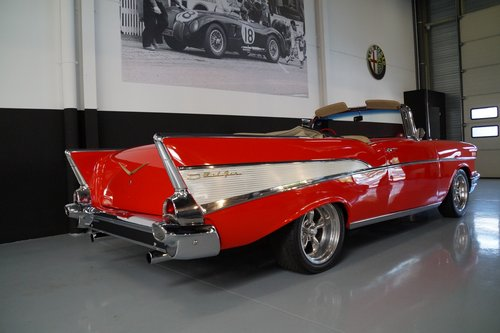 CHEVROLET BEL AIR Convertible 5.7 V8 (1957) For Sale (picture 3 of 6)