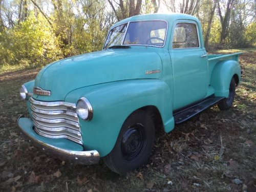 1951 Chevrolet Deluxe Pickup  For Sale (picture 1 of 6)
