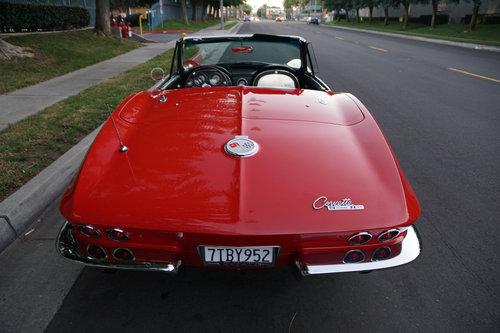 1963 Chevrolet Corvette 327/340HP V8 4 spd Convertible SOLD (picture 4 of 6)