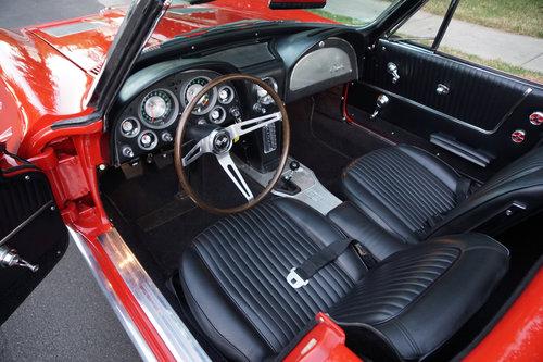 1963 Chevrolet Corvette 327/340HP V8 4 spd Convertible SOLD (picture 5 of 6)