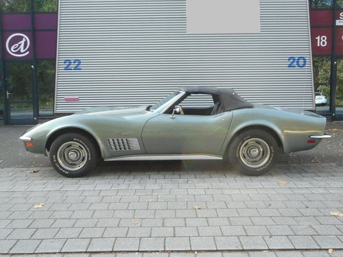 1972 CHEVROLET CORVETTE C3  CONVERTIBLE     For Sale (picture 6 of 6)
