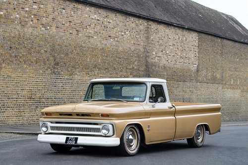 1964 Custom Chevy C20 Long Bed, Auto Box SOLD (picture 1 of 6)