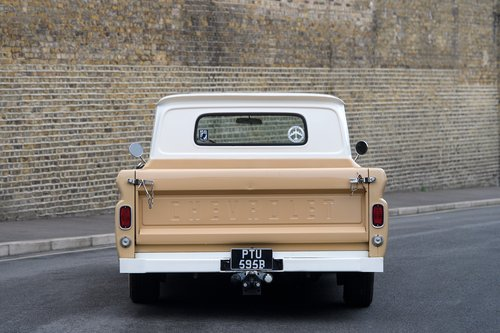 1964 Custom Chevy C20 Long Bed, Auto Box SOLD (picture 2 of 6)