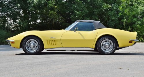 Corvette C3 convertible (1970) 300bhp chromes original LHD For Sale (picture 2 of 6)