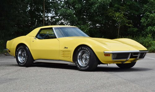 Corvette C3 convertible (1970) 300bhp chromes original LHD For Sale (picture 3 of 6)