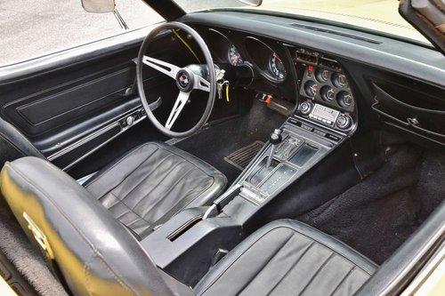 Corvette C3 convertible (1970) 300bhp chromes original LHD For Sale (picture 5 of 6)