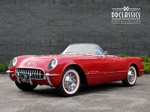 1954 Chevrolet Corvette C1 For Sale In London ( LHD ) For Sale (picture 1 of 6)