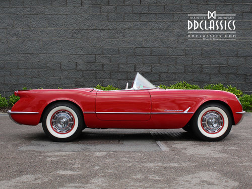 1954 Chevrolet Corvette C1 For Sale In London ( LHD ) For Sale (picture 2 of 6)