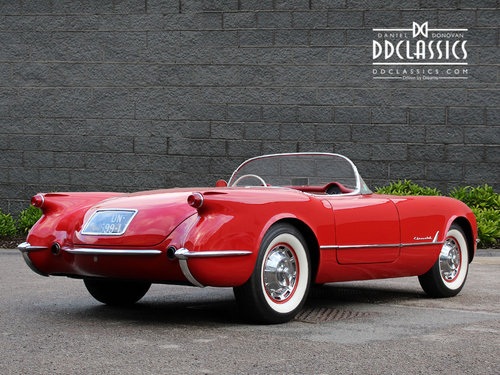 1954 Chevrolet Corvette C1 For Sale In London ( LHD ) For Sale (picture 3 of 6)
