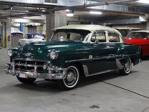 1953 Chevrolet DeLuxe 210 saloon For Sale (picture 1 of 6)