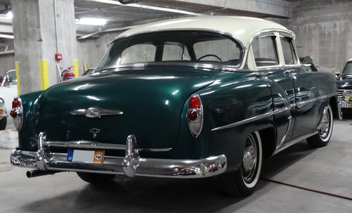 1953 Chevrolet DeLuxe 210 saloon For Sale (picture 2 of 6)