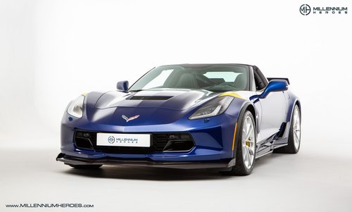 2017 CHEVROLET CORVETTE GRAND SPORT // Z07 CARBON PACK // CERAMIC For Sale (picture 1 of 6)