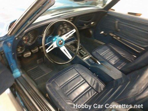 1973 Blue Blue Corvette Convertible 4spd For Sale For Sale (picture 4 of 6)