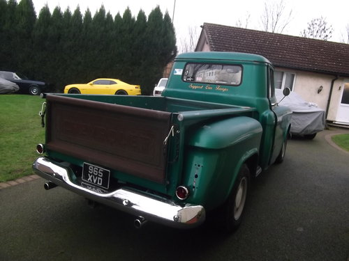 1957 Chevy C10 Pick Up Truck, 350 V8, Automatic SOLD (picture 2 of 6)