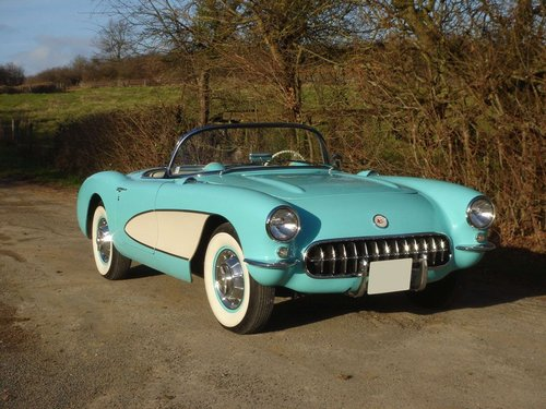 1957 Chevrolet Corvette C1 No reserve For Sale by Auction (picture 1 of 3)